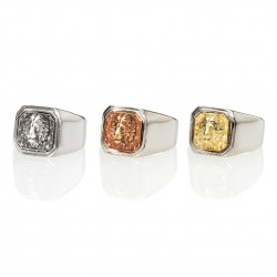King Square Signet Ring